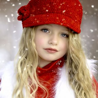 Children Snow Cap_3840x2400
